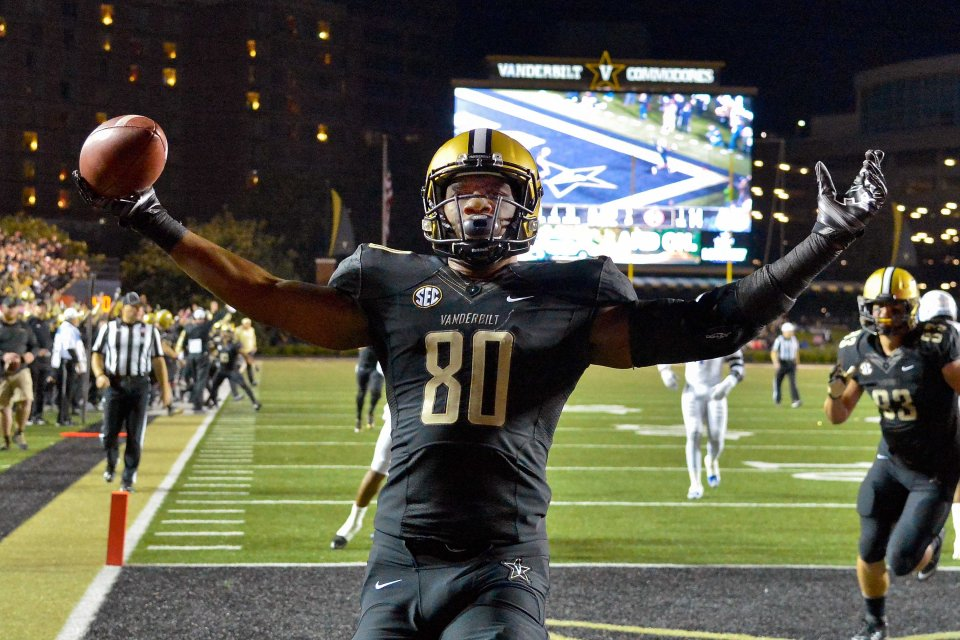 NCAA Football: Tennessee State at Vanderbilt