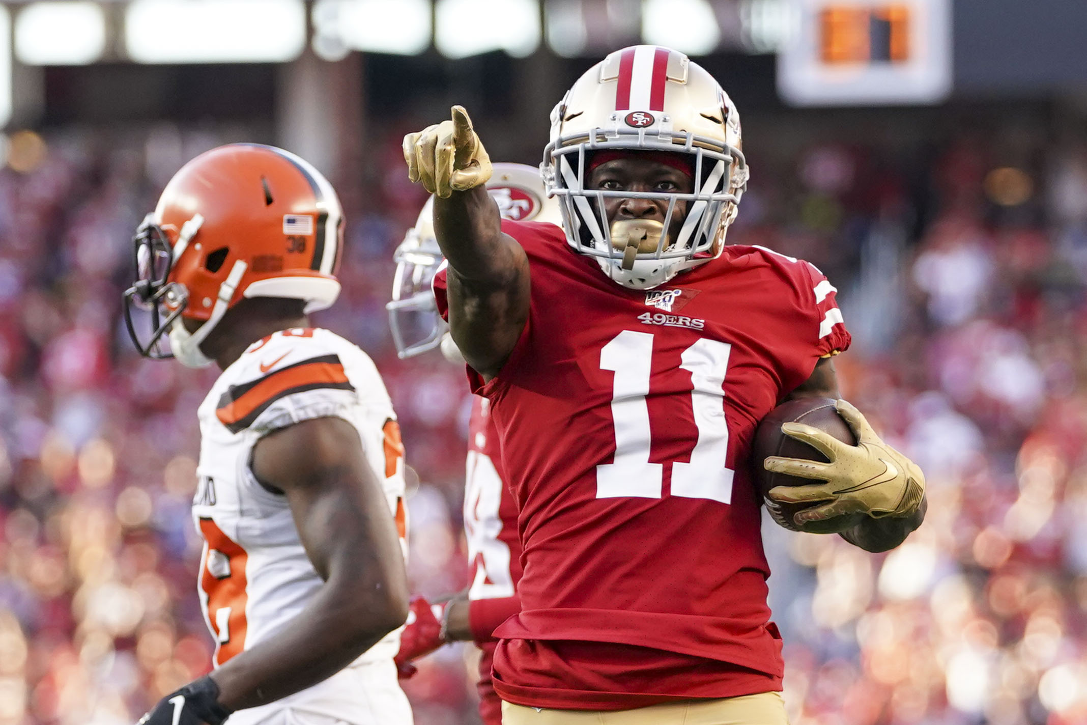 NFL: Cleveland Browns at San Francisco 49ers